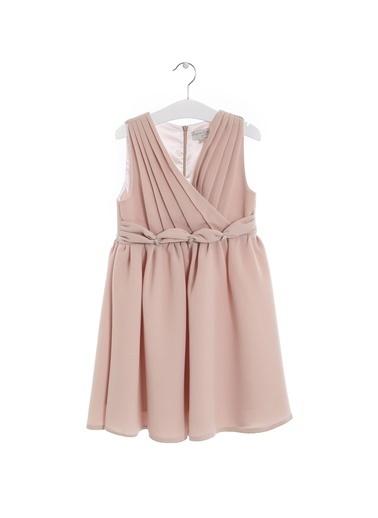 Asymmetry Elbise Pembe